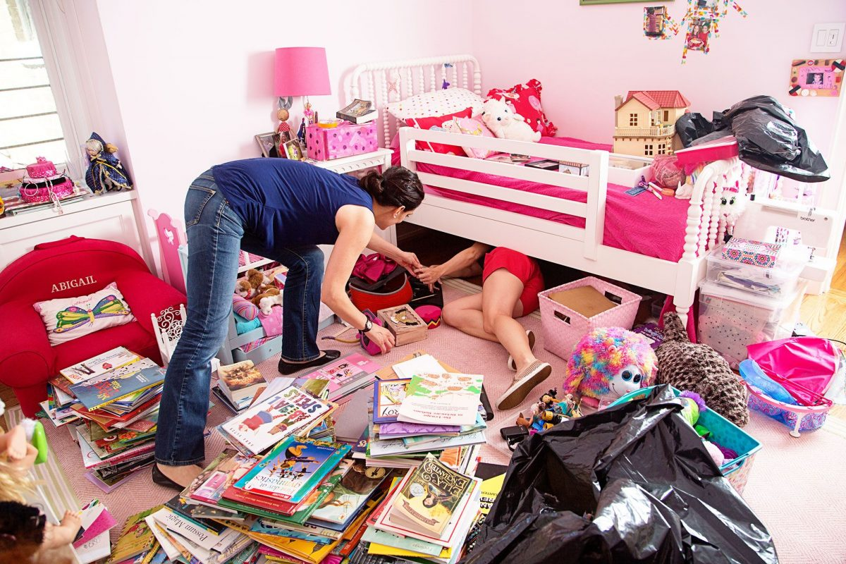 How to De-Clutter the Children's Rooms